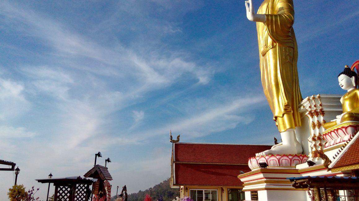 Big standing Buddha statue