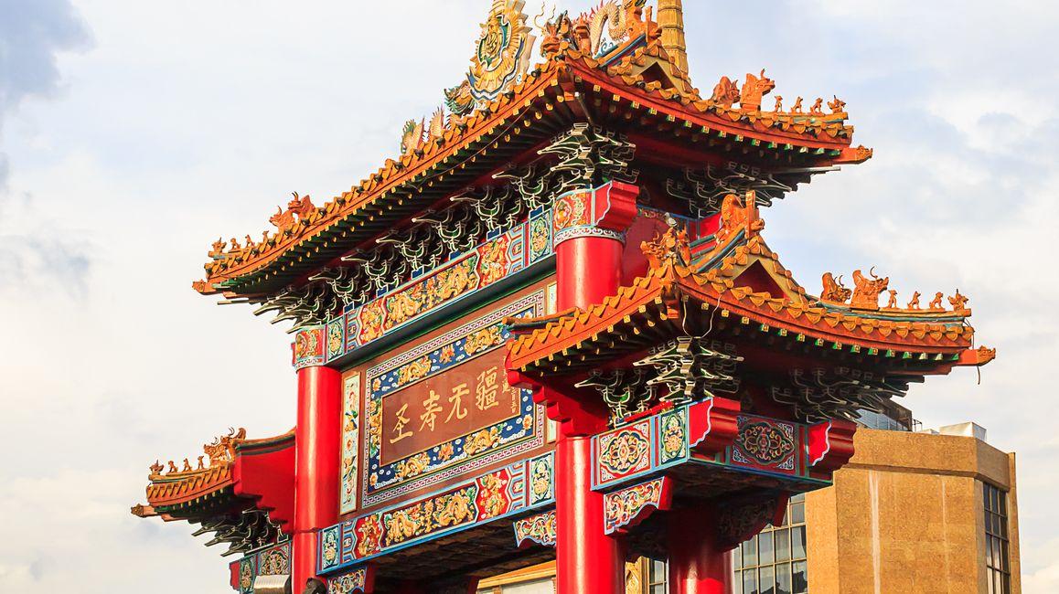 Walk around China Town