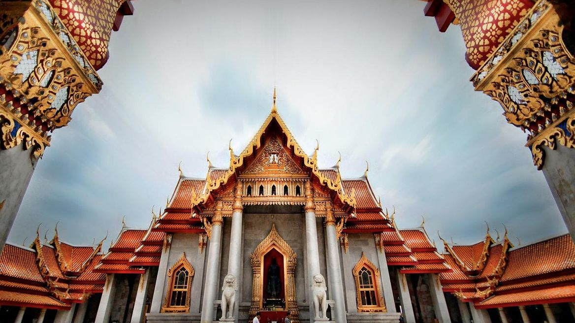 The Marble Temple or Wat Ben (Unseen Temple)