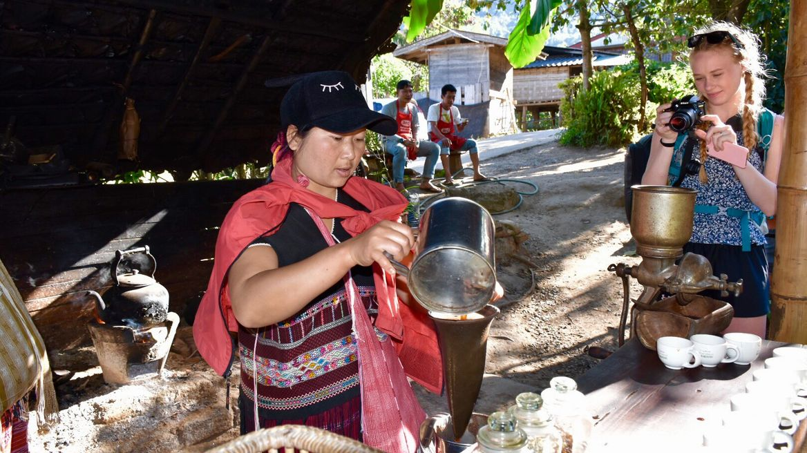 Visit the Karen Tribe Village