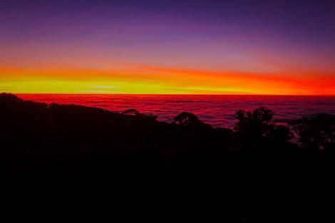 Sun rise at kew mae pan.