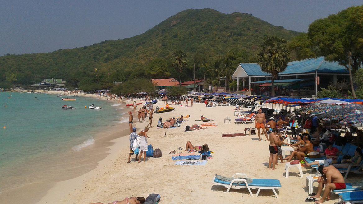 Beautiful with sand beach