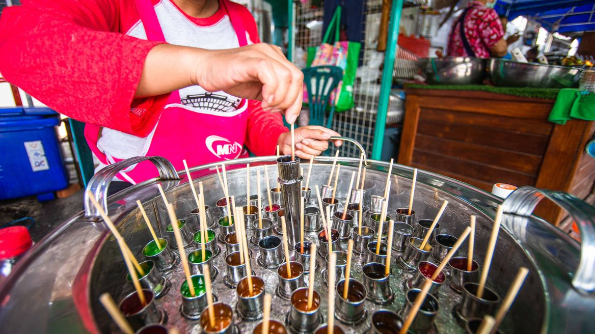 Thai-style popsicles