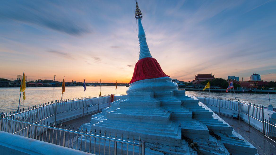 Koh kret tour: Wat Poramaiyikawas Worawihan