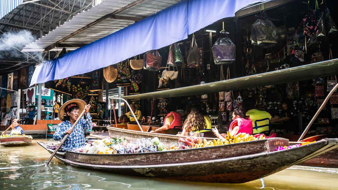 floating market vibe