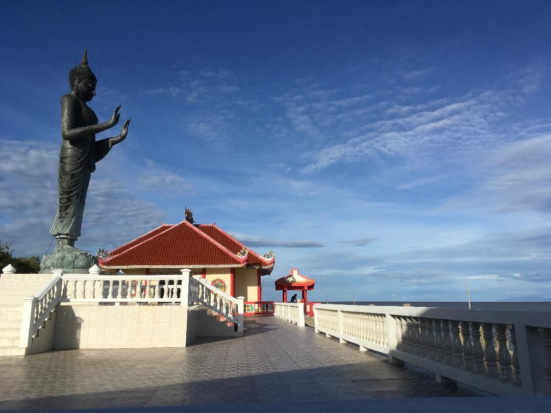 Guanyin at the front of thai gulf