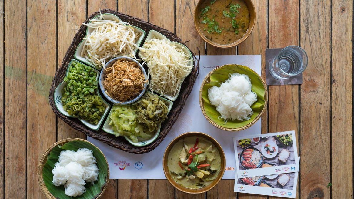 Northern Thai food at Krua Mookda