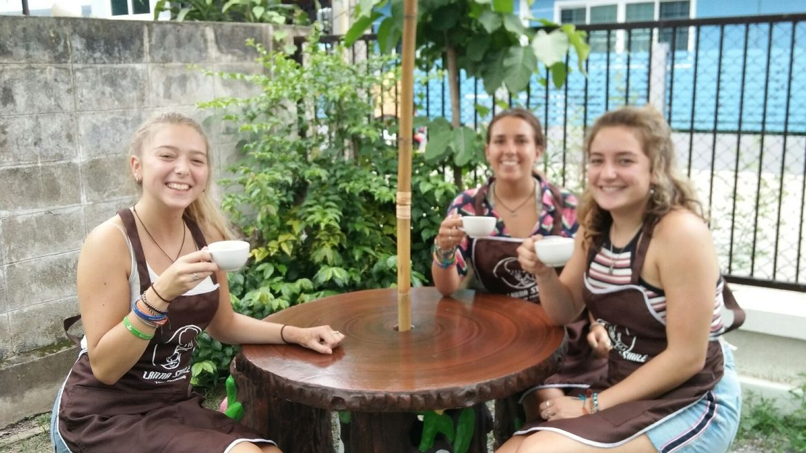 Enjoy with welcome drink at Lanna Garden