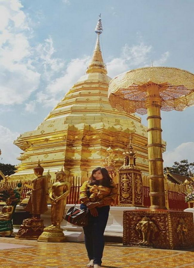 Visit the most famous temple in Chiangmai.