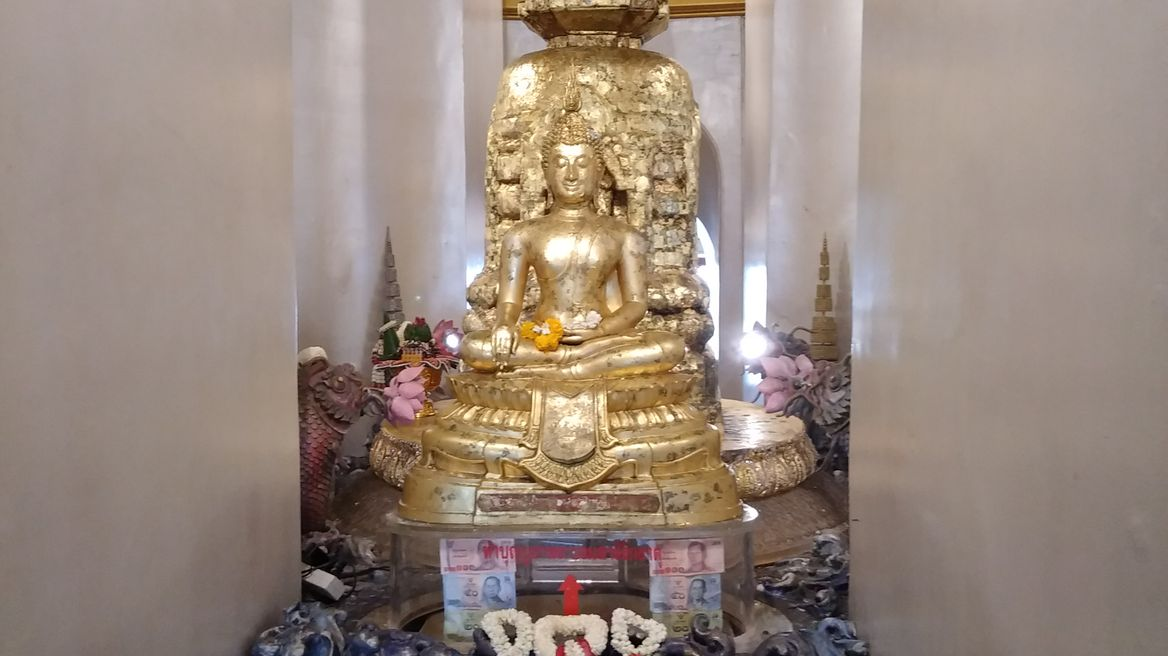 The Lord Buddha's relics
