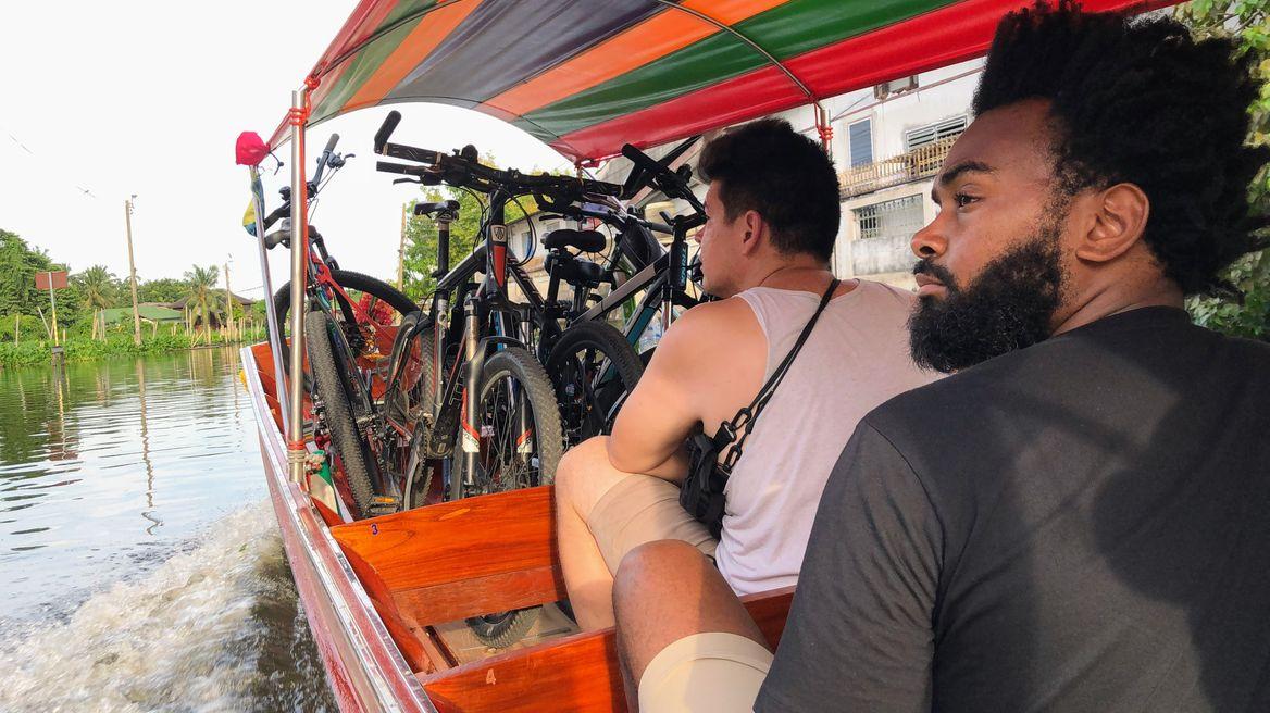 Take a boat ride along Bangkok's Canals