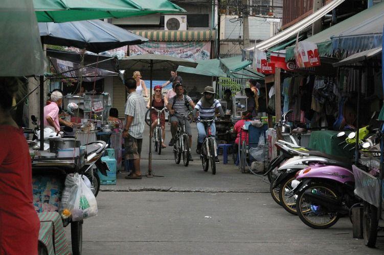Ride through non-touristy Bangkok