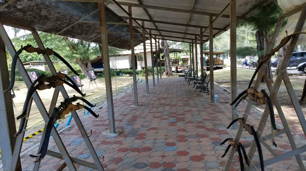 Archery training camp.