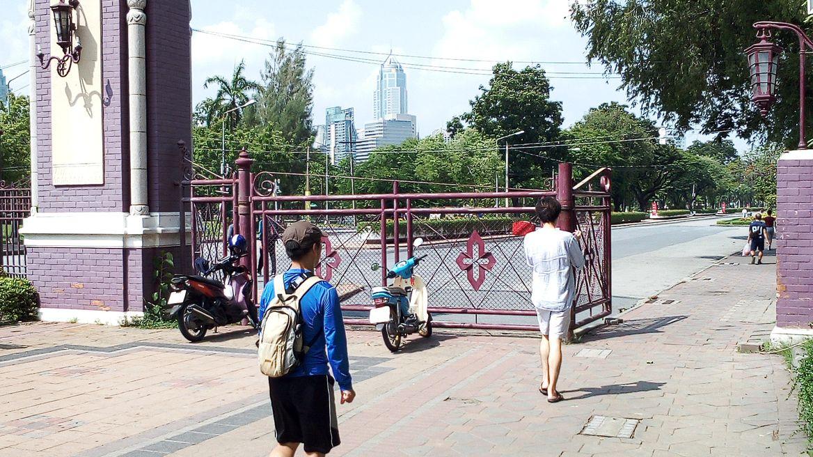 Lumpinee park main gate