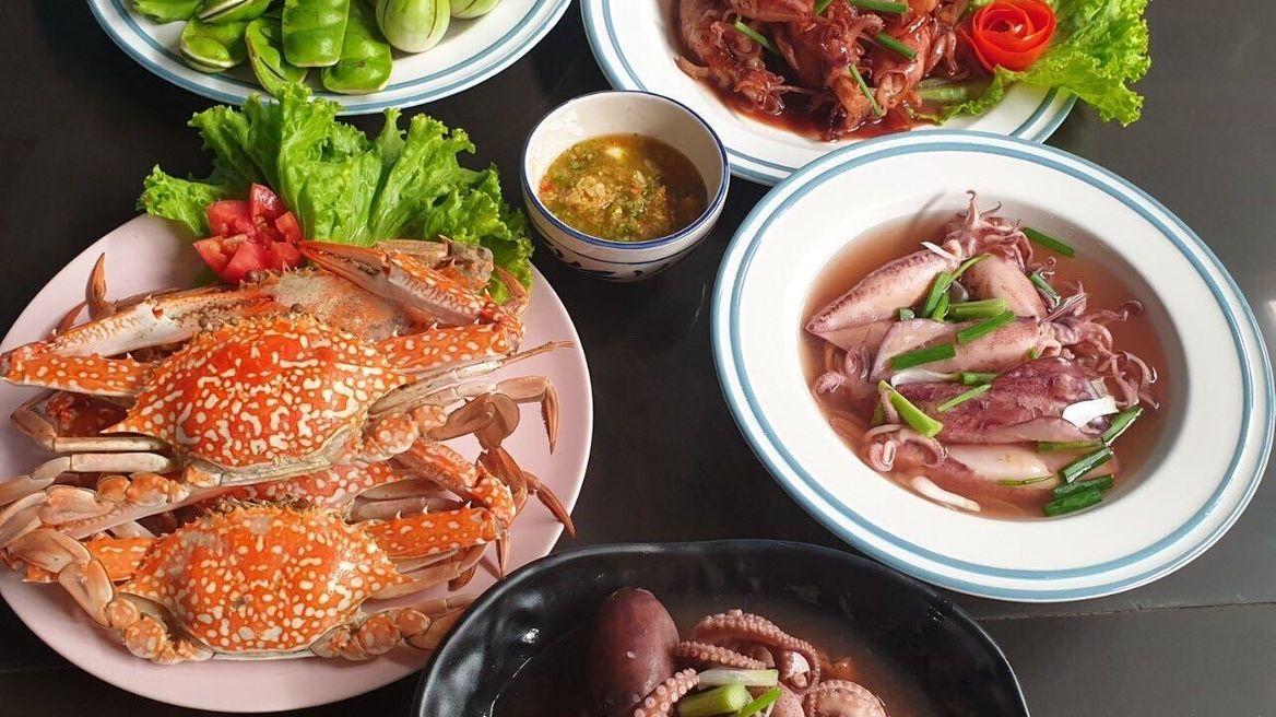 ทานอาหารทะเลแบบเน้นๆ3มื้อ