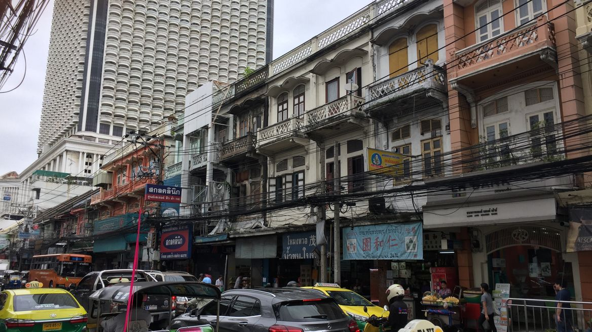 Old town of Charoen Krung, Bangkok