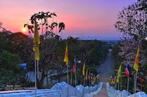 Sunrise at Temple