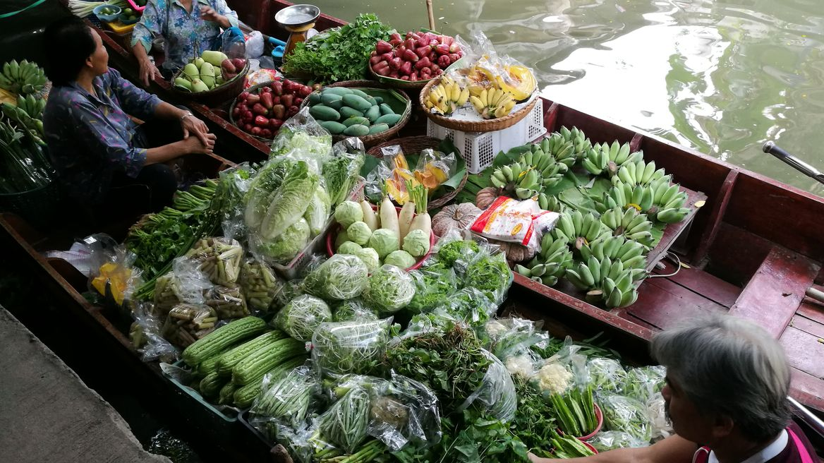 Vegetables and fruits with reasonable price