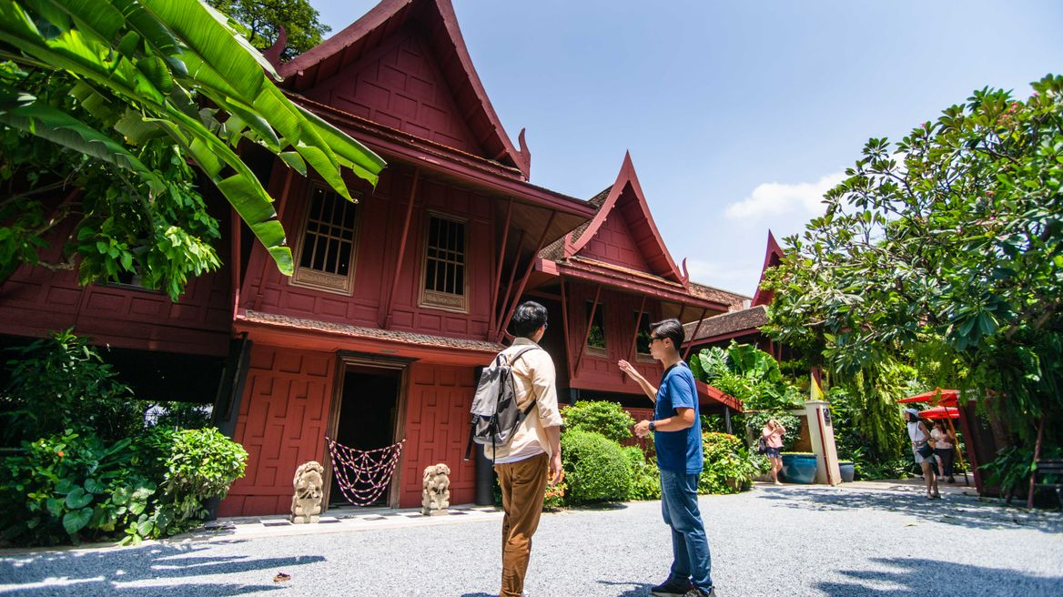 Learn history Jim Thompson House