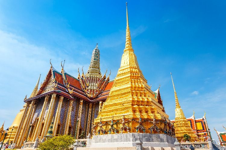Grand Palace and Temple of the Emerald Buddha (Wat Phra Kaew)