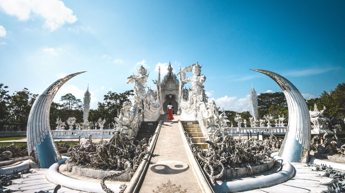 Discover White temple