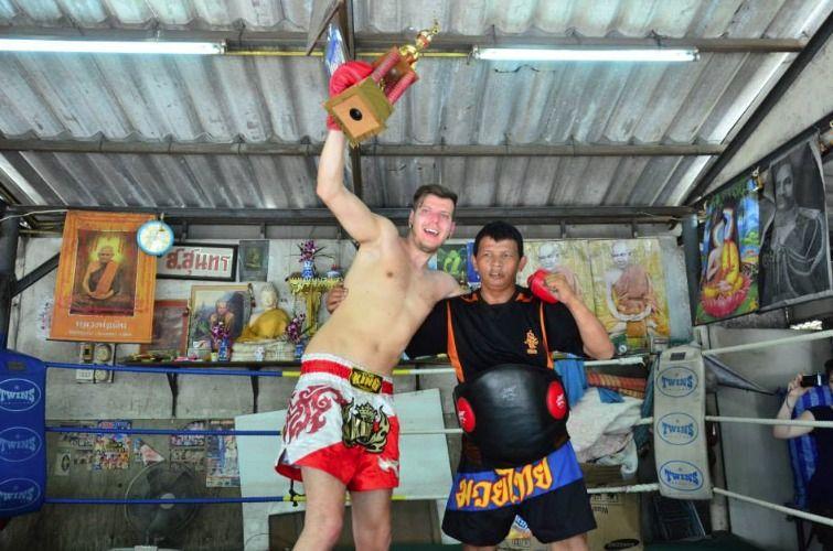 Muay Thai training school