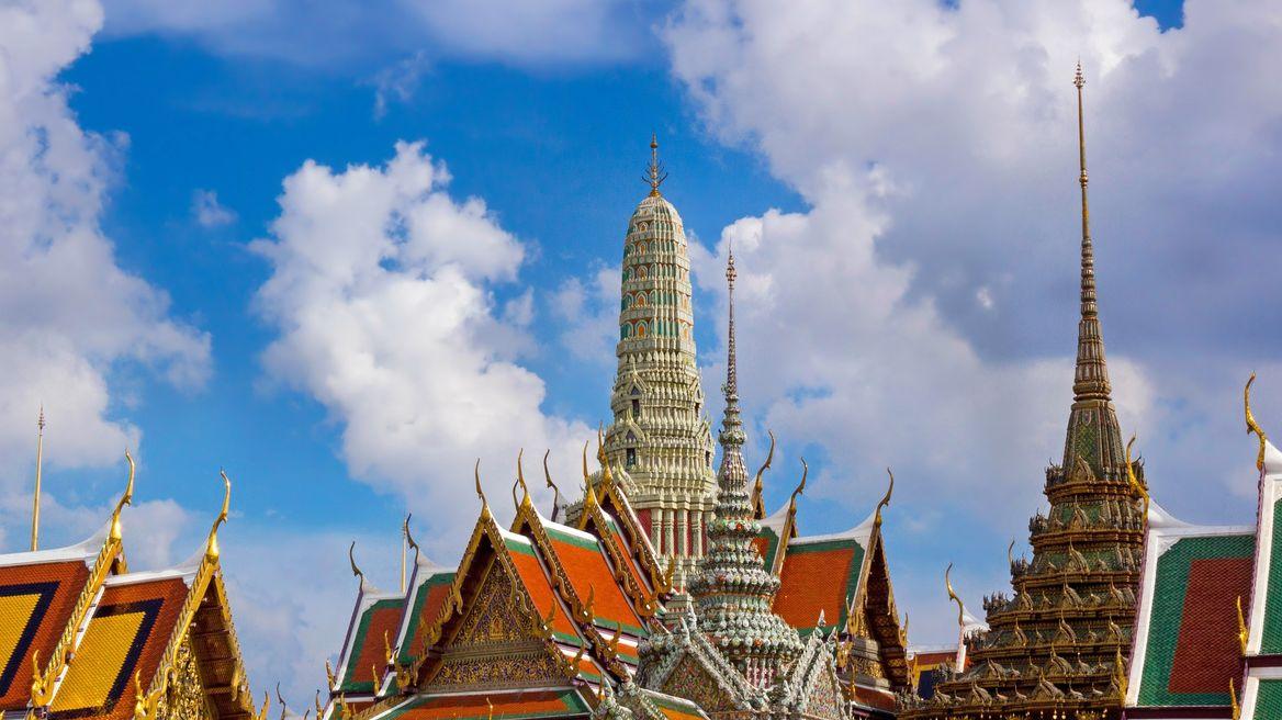The Emerald Buddha Temple (roof) - BKK