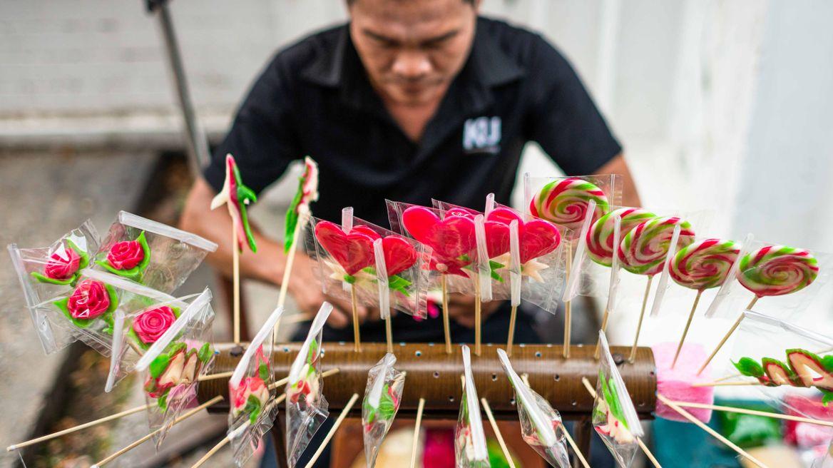 Thai-style lollipops!