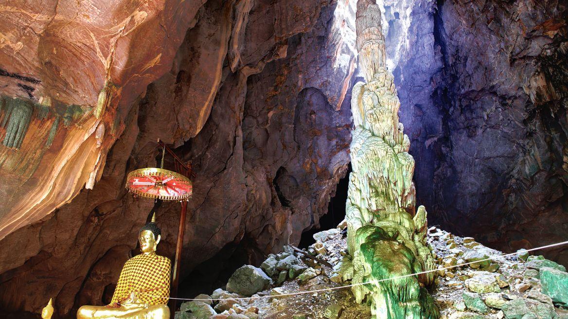 Tham Pha Thai Cave in Lampang, Thailand