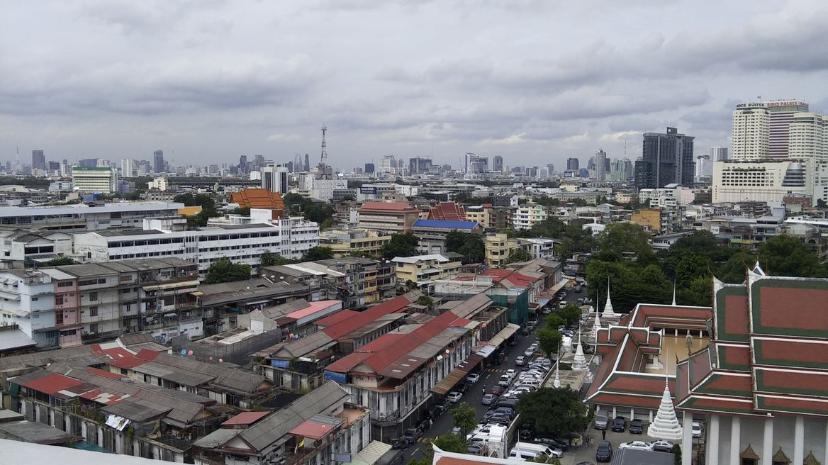 Top View of Bangkok