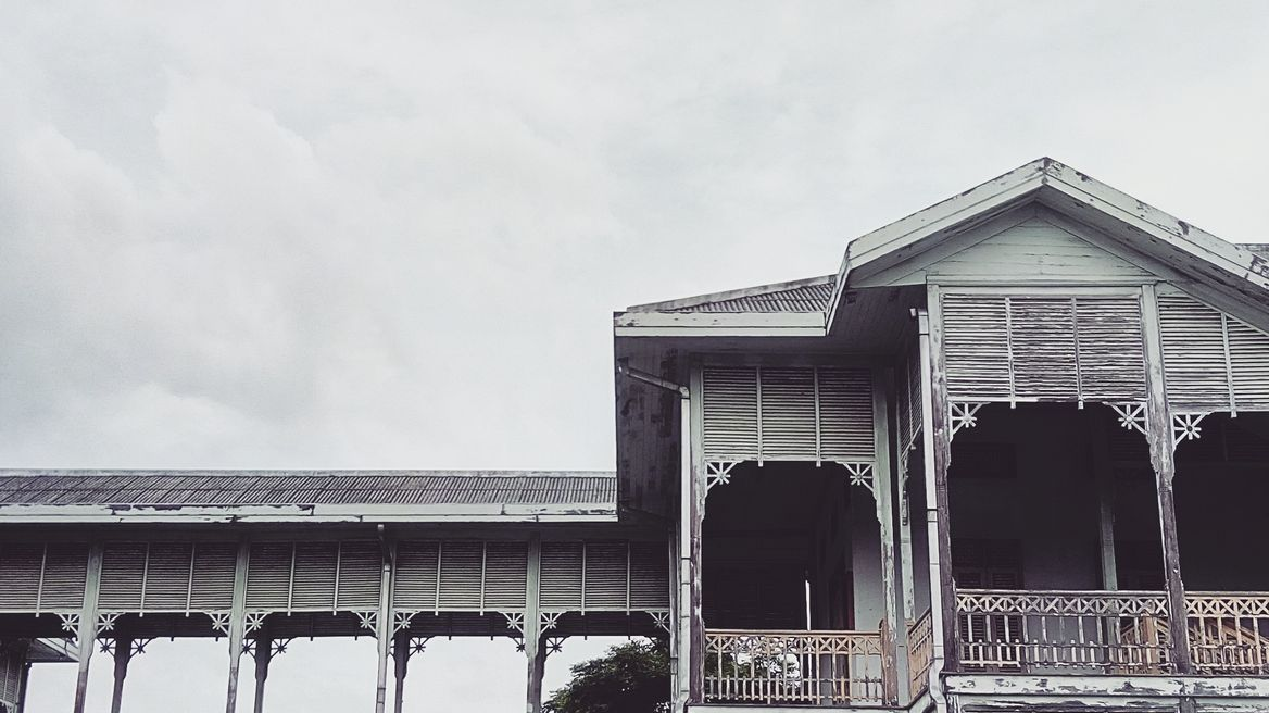 The 108 years old teakwood city hall