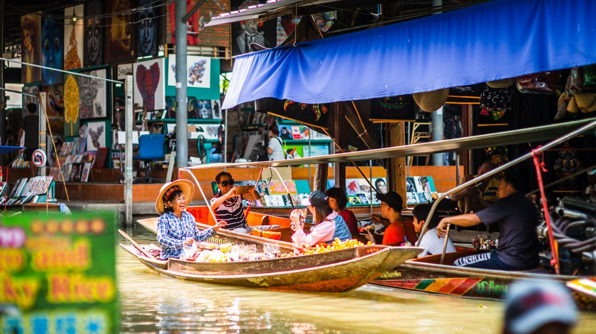floating market vibe