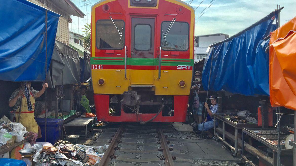 Train Market at 9 am
