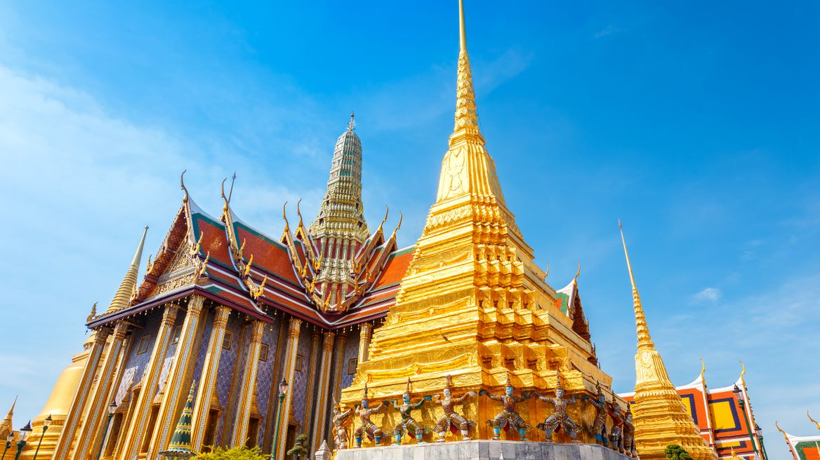 Grand Palace and Wat Phra Kaew (Temple of Emerald Buddha)