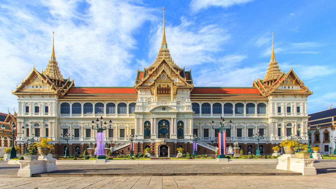 The throne hall of the Grand Palace