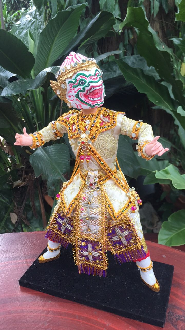 Khon thai classical doll