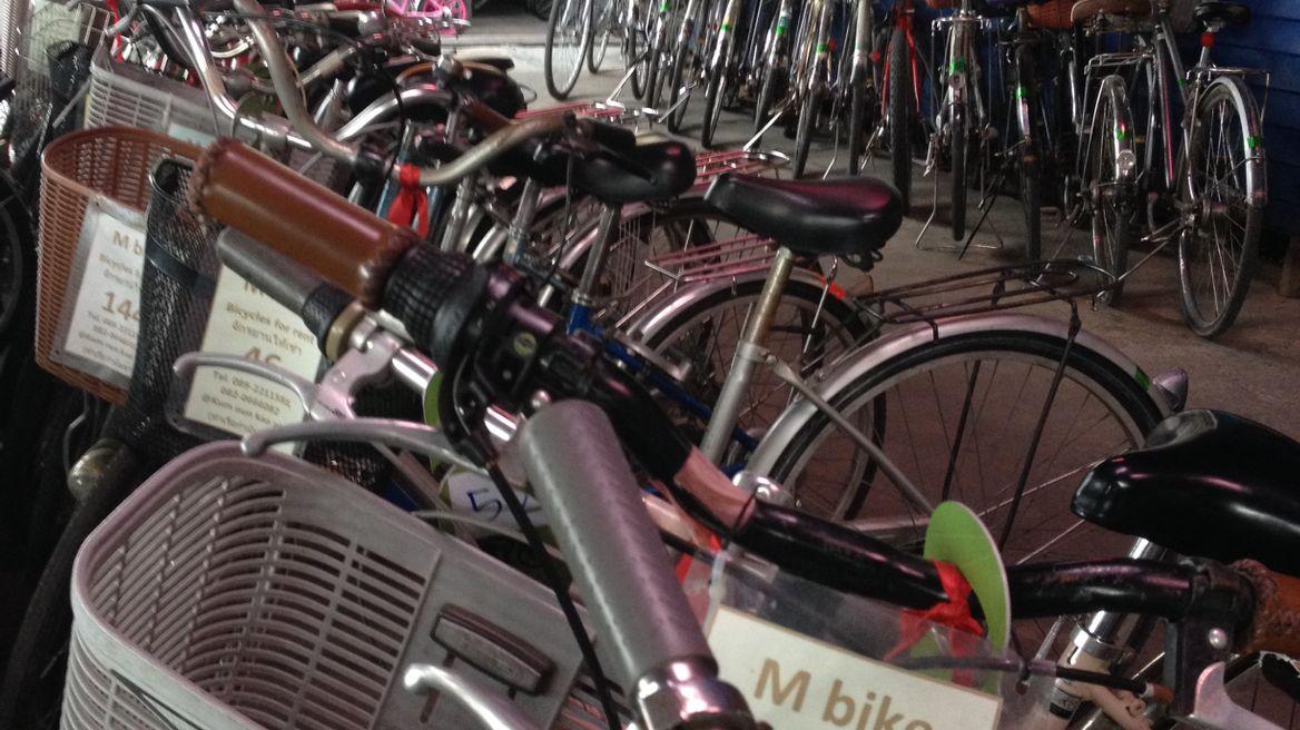Bicycle shop at Bang Kachao