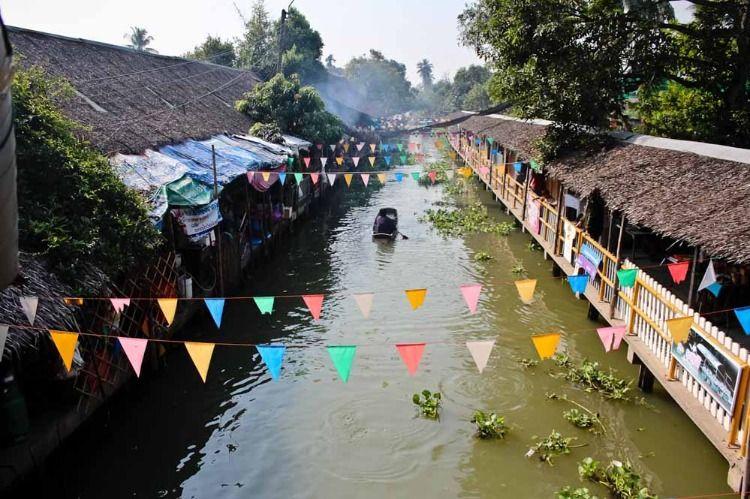 Khlong Lat Mayom Floating Market