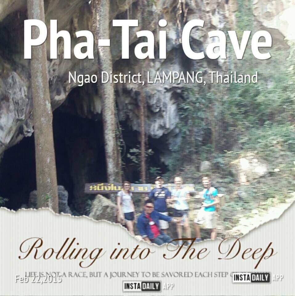 The Pha-Tai Cave Adventure