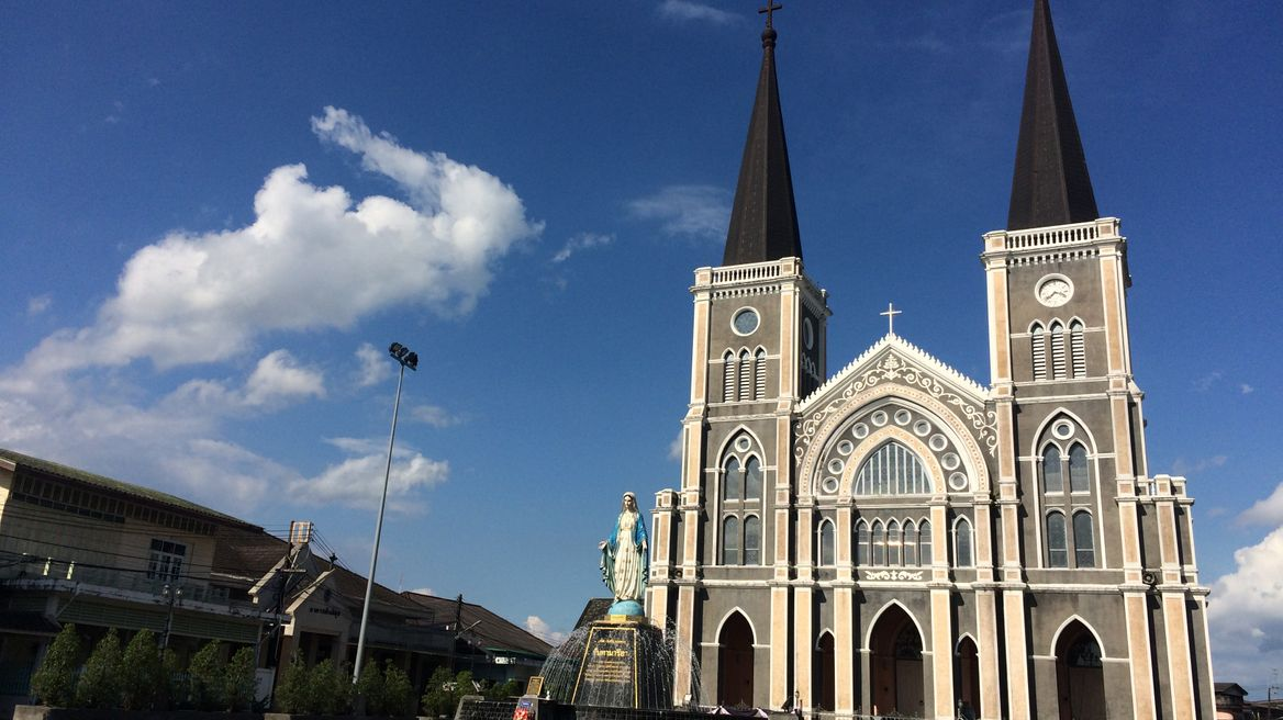 Catholic Cathedral, the oldest church in Thailand.