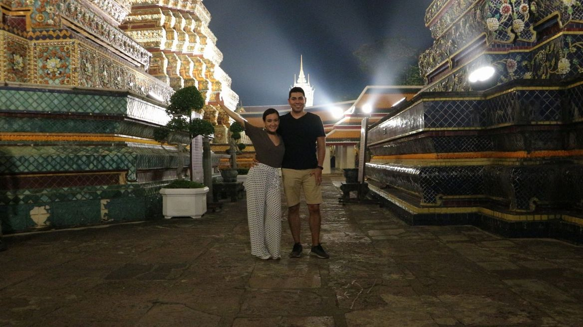 Visit Wat Pho at night