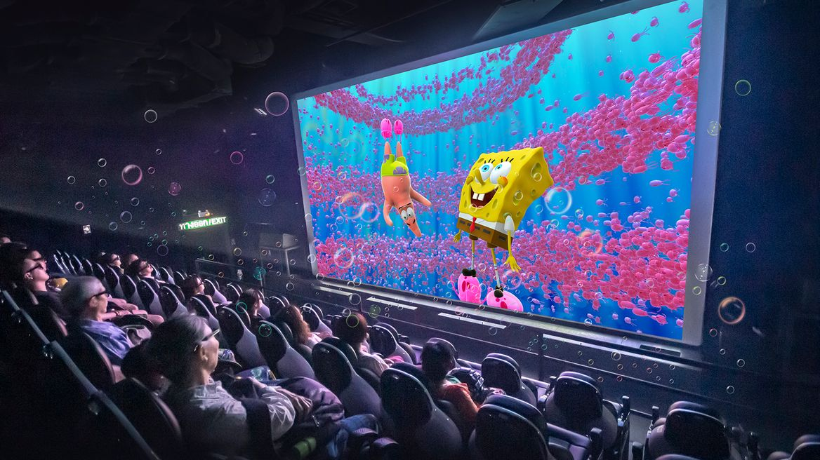 All New 4D Movie