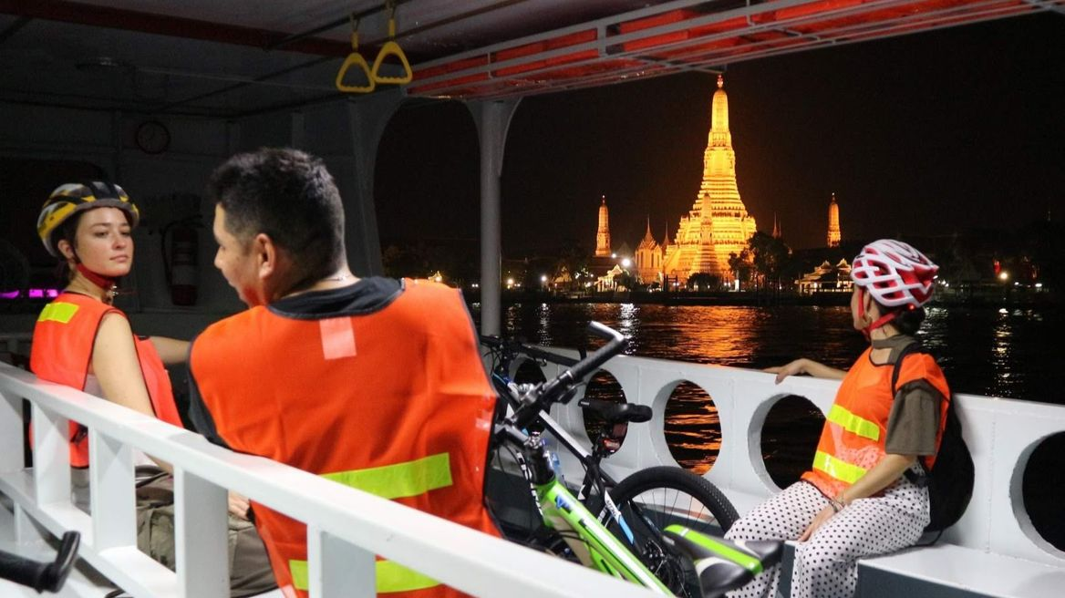 Cross the the Chao Phraya  River by local ferry
