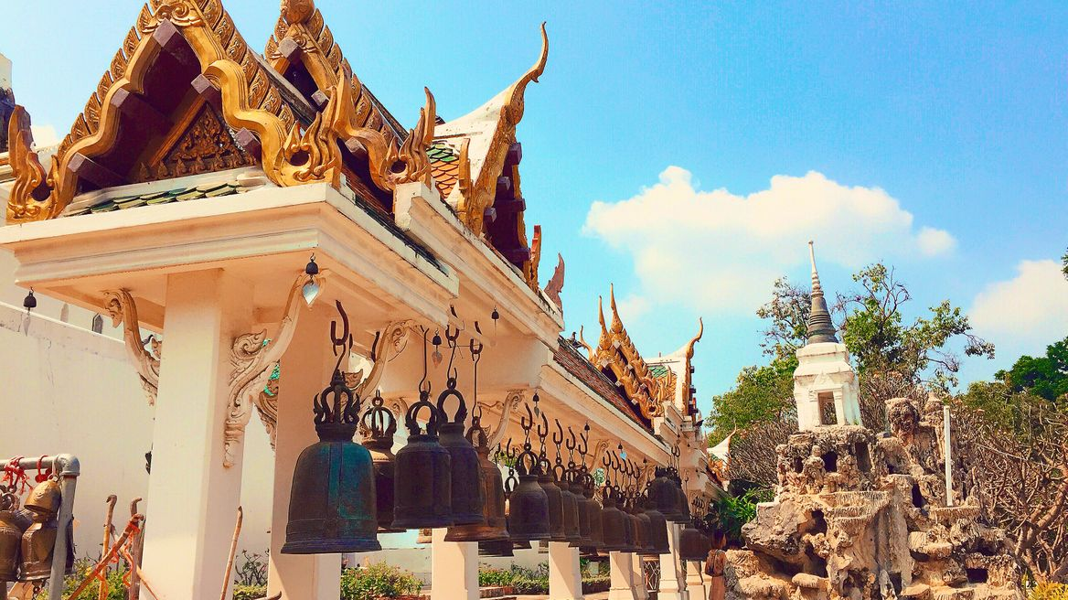 Old Thai traditional bells