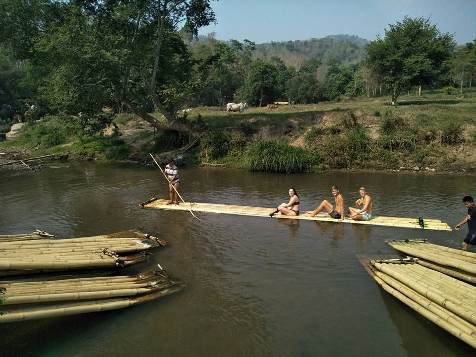 Chiang Mai private tour: Bamboo Rafting