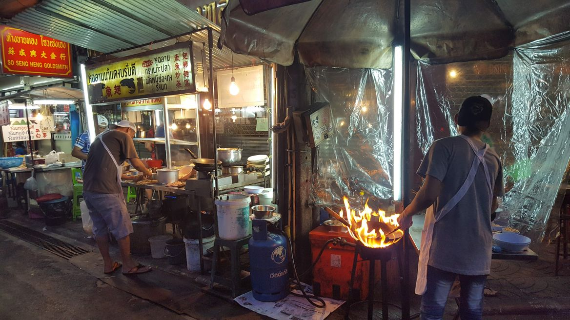 Street food at Bangkok Chinatown