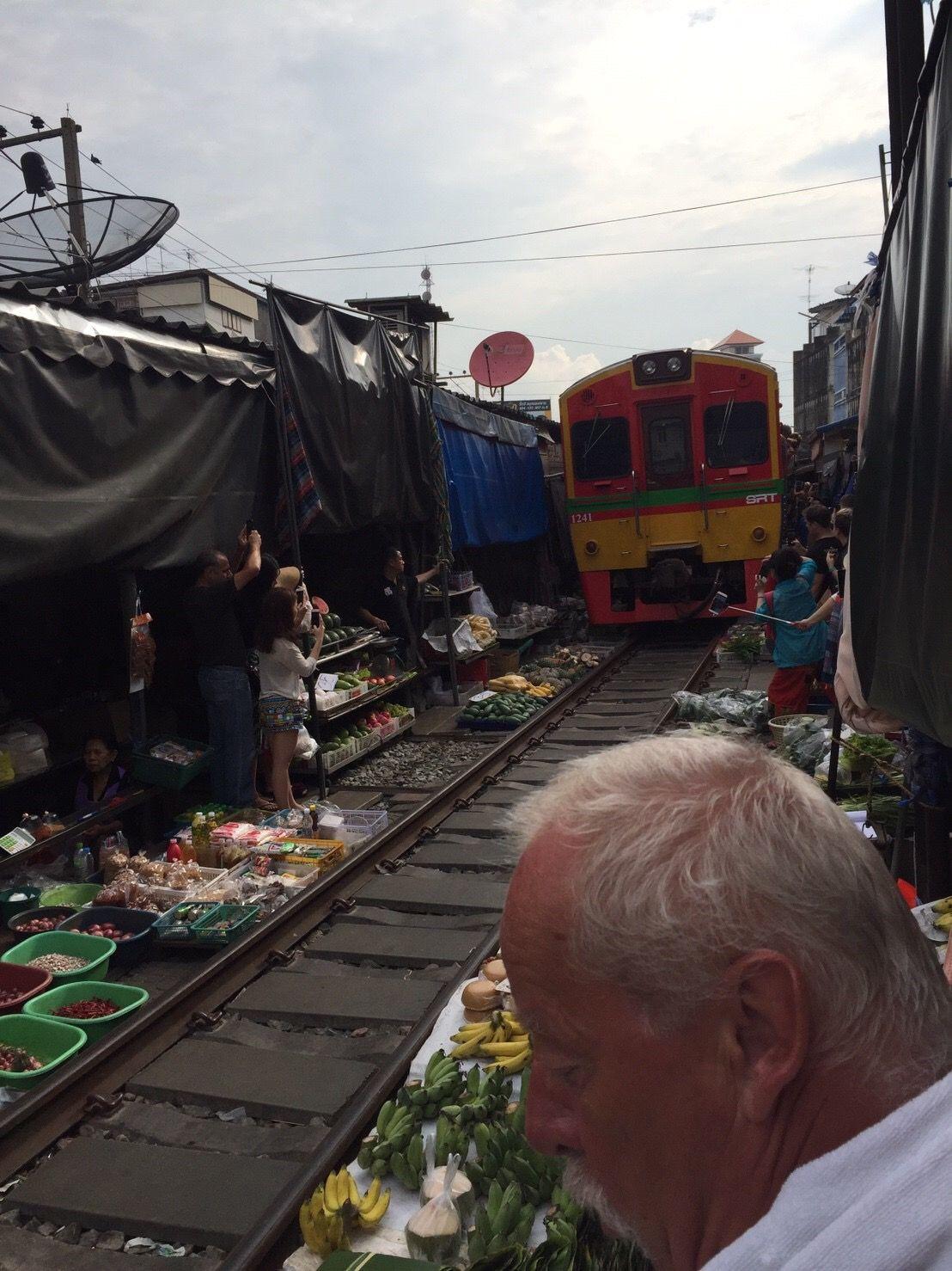 Maeklong Railway Market Tour