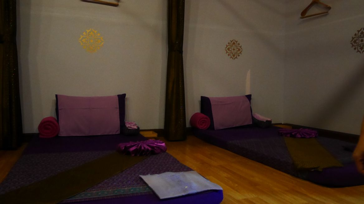 Relax with Thai Massage.