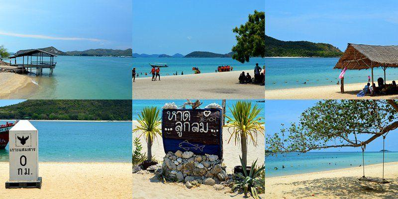 "Sa-mae-sarn island is a beautiful island and nice beach, there are 2 beach ""Tien Beach"" and ""Luk Lom Beach"""