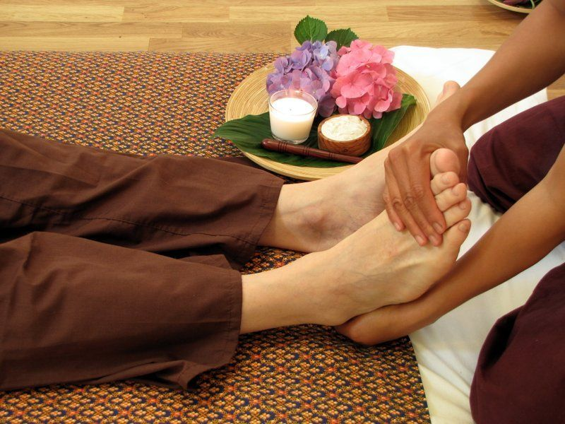 Foot Massage Treat in Air-con Room
